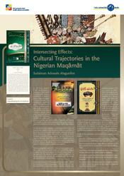 "Sulaiman Adewale Alagunfon: ""Intersecting Possible Effects: Cultural Trajectories in the Maqamat of Yoruba Scholars"""