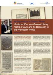 "Philip Bockholt: ""Writing History in Safavid Times. Khvandamir's (d. 1535-6) General History Habib al-Siyar and its Reception in the Pre-Modern Period"""