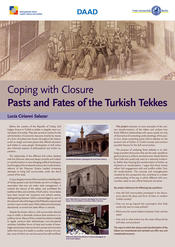 "Lucia Cirianni Salazar: ""Coping with Closure: Pasts and Fates of the Turkish Tekkes"""