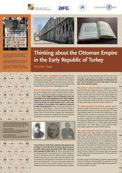 "Veronika Hager: ""Thinking about the Ottoman Empire in the Early Republic of Turkey"""