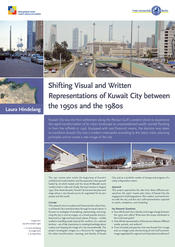 "Laura Hindelang: ""Shifting Visual and Written Representations of Kuwait City between the 1950s and the 1980s"""