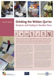 "Hanna Nieber: ""Drinking the Written Qur'an: Scripture and Healing in Zanzibar Town"""