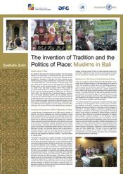 "Syaifudin Zuhri: ""The Invention of Tradition and the Politics of Place: Muslims in Bali"""