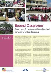 "Kristina Dohrn: ""Beyond Classrooms: Ethics and Education at Gülen-inspired Schools in Urban Tanzania"""