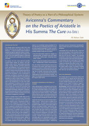 "Ali Adnan Sakr: ""Avicenna's 'Commentary on the Poetics of Aristotle' in His Summa 'The Cure'"""
