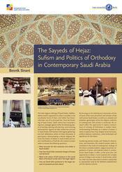 "Besnik Sinani: ""The Sayyeds of Hejaz: Sufism and the Politics of Orthodoxy in Contemporary Saudi Arabia"""