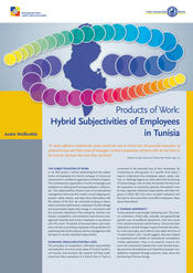 "André Weißenfels: ""Products of Work: Hybrid Subjectivities of Employees in Tunisia"""
